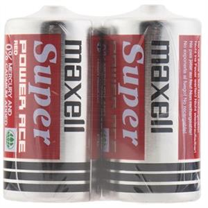 Maxell Super Power Ace C Pack of 2 Battery